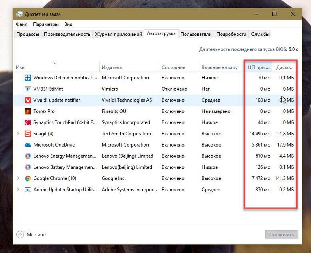 Как посмотреть программы, замедляющие Windows 10  G-ek com